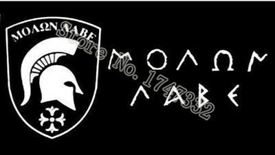 MOLON LABE FLAG Come and Take It Spartan Flag hot sell goods 3X5FT 150X90CM Bann