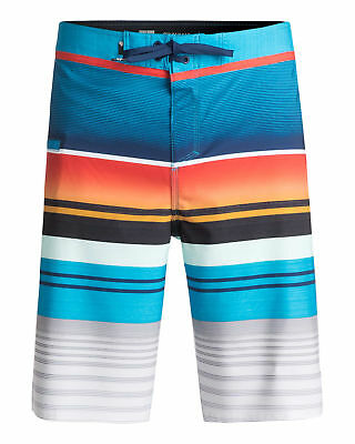 "NEW QUIKSILVER™  Mens Everyday Stripe 21"" Boardshort Surf Board Shorts"