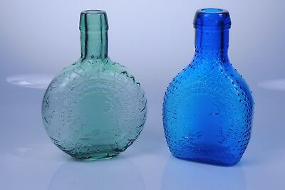 Clevenger Brothers glass #6 & #7 FACTORY SAMPLE bottles South Jersey