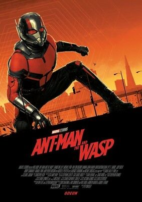 Ant Man And The Wasp Exclusive Odeon Poster