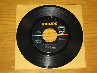 "60s ROCK/NORTHERN SOUL 45 RPM - FRANKIE VALLI - PHILIPS 40407 - ""THE PROUD ONE"""