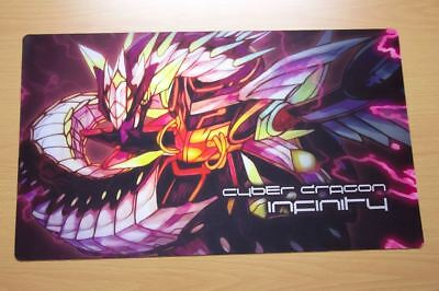F3040 Free Mat Bag Custom Playmat Cyber Dragon Play Mat Yugioh CCG Playmat