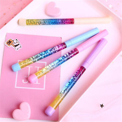 1Pcs 0.5mm Cute Kawaii Erasable Gel Pen Cartoon Black Ink Pens Erasable Pen