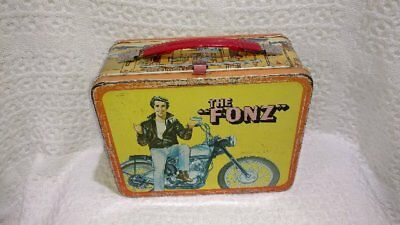 "Vintage ""the Fonz"" Happy Days Lunchbox W/thermos!"