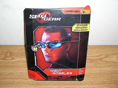 "Spy Gear ""see In The Dark"" Secret Agent Night Goggles By Spin Master"