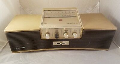 1966 Panasonic Space Age FM AM Radio Stereo  RE-7392