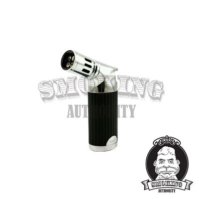 SCORTCH TORCH Quad Metal Jet Flame Cigar Lighter - HEAVY DUTY!