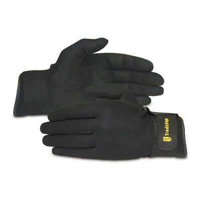 Tredstep Eventer Unisex Gloves Competition Glove - Black All Sizes