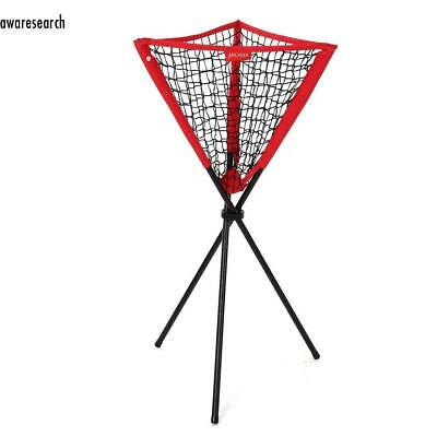Neue Caddy Ball Baseball Softball Tennis Praxis Pitching Batting Bownet Portable
