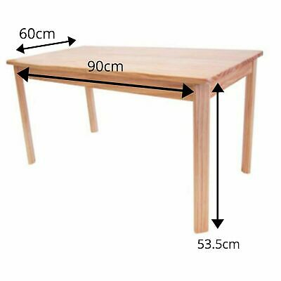 Kids Toddler Wooden Rectangular Table - Natural