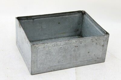 Antique Storage Box Metal Industrial Design Shelf Loft Crate Storage Containers
