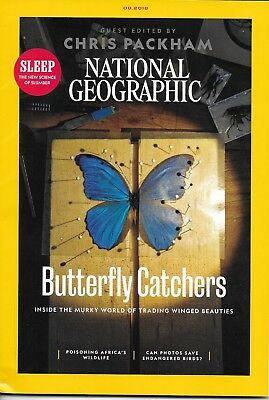 NATIONAL GEOGRAPHIC Magazine - AUGUST 2018 - BUTTERFLY CATCHERS