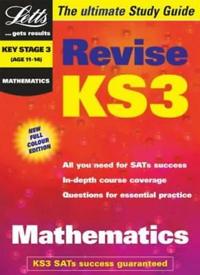 Key Stage 3 Maths Study Guide (KS3 Revision) (Letts Revise Key Stage 3)-Educati