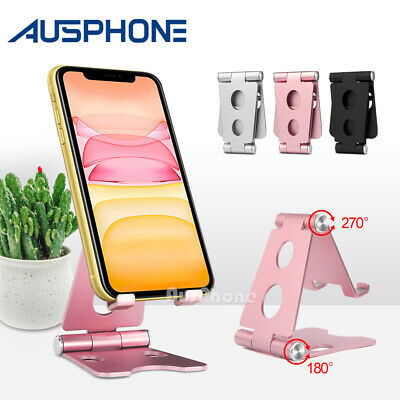Universal Portable Folding Aluminum Tablet Mount Holder Stand For iPhone iPad AU