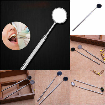 Stainless Steel Dental Mouth Mirror Reflector Odontoscope Dentist Equipment tool