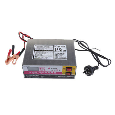 Electric Car Smart LED Battery Charger 12V/24V Intelligent Pulse Repair Type