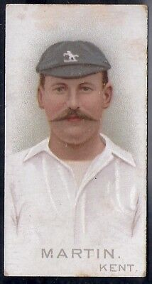 Wills-Cricket Cricketers 1896- Kent - Martin