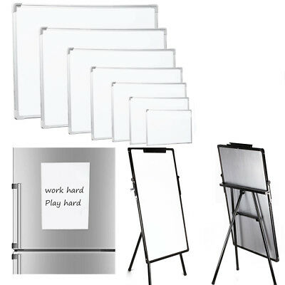 Large Magnetic Whiteboard Dry Wipe Drawing Board Office School Small Notice Memo