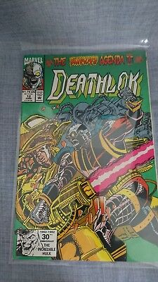 "Deathlok issues #12-14 "" The Biohazard Agenda "" Condition : Very Fine"