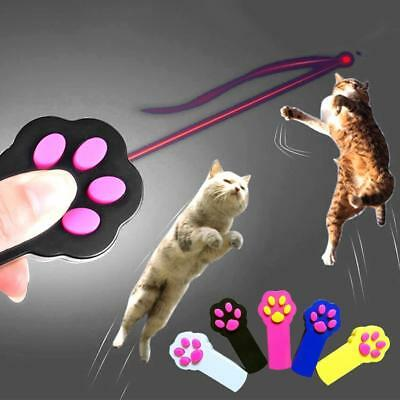Funny Laser Toy Pet Cat Dog Interactive Automatic Red Laser Pointer ExerciseP