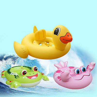 Baby Swimming Ring  Inflatable Seat Boat Baby Kids Summer Water Pool Float Toy