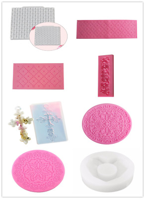 Silicone Soap Mold Cake Candy Chocolate Cookies Baking Mold ice tool MouldP