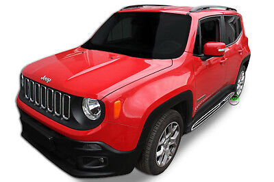 Running Boards Jeep Renegade  2014- up  Side Steps  PREMIUM QUALITY