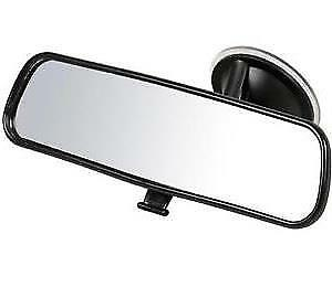 Suction Cup Adjustable Dipping Anti Glare Rear View Mirror fits SUZUKI