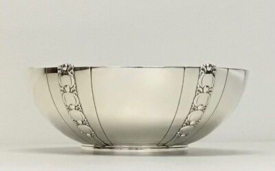 Tiffany & Co Sterling Silver Tomato Pattern LARGE BOWL MODERNIST EXC COND