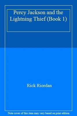 Percy Jackson and the Lightning Thief (Book 1)-Rick Riordan, 9780141376882