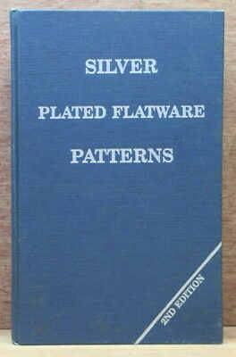 Silver Plated Flatware Patterns by Davis & Deibel Updated 2nd Edition 1981