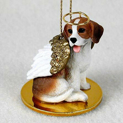 BEAGLE ANGEL DOG CHRISTMAS ORNAMENT HOLIDAY Figurine Statue Memorial gift