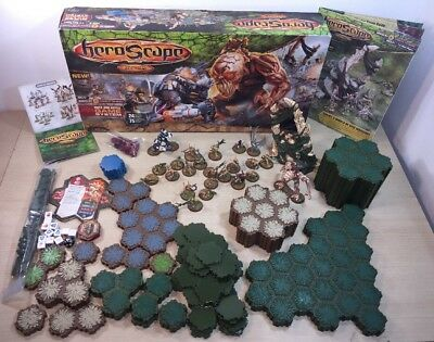 Heroscape The Battle Of All Time 24 Figures 12 Dice Terrain 2007