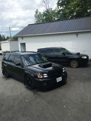 2004 Subaru Forester XT 2004 SUBARU FORESTER XT XTi STi WAGON, MANUAL, TURBO & TUNED