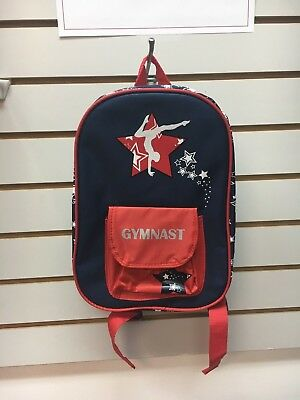 NEW WITH TAGS Kid's Gymnastics Small Backpack