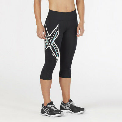 2XU Women's Ice X Mid-Rise Comp 3/4 Tights