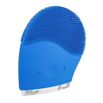 Silicone Facial Cleansing Brush Sonic Face Care Exfoliator Massager Cleanser