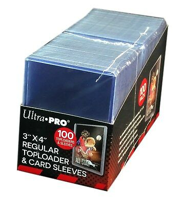 Ultra Pro TopLoader, 100x Toploader + 100x Soft Sleeves Combo