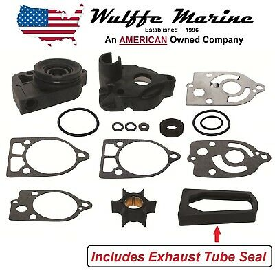 Water Pump Impeller Kit for Mercury 30 35 40 45 50 60 65 70 Hp 46-77177A3
