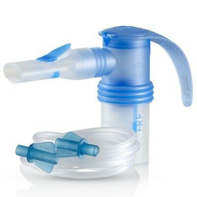 NEW PARI LC Sprint Reusable HIGH EFFICIENCY Nebulizer with Tubing, Blue