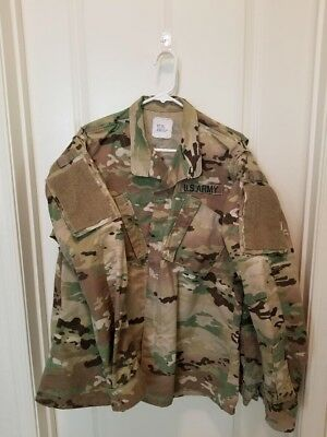 Army Multicam Uniforms; Operational Camouflage Pattern; OCP; Mens M-L and M-R