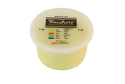 CanDo TheraPutty Scented Exercise Putty, Yellow: Banana, X-Soft, 1 lb