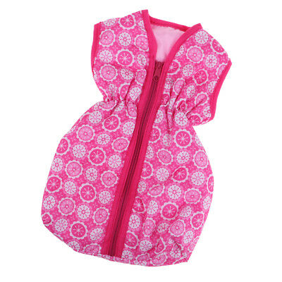Lovely Pink Sleeping Bag for 18inch American Girl Doll Accs Our Generation