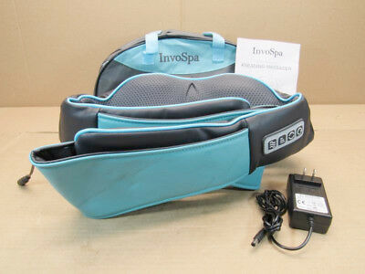 Shiatsu Back Neck Shoulder Massager with Deep Tissue Kneading Pillow
