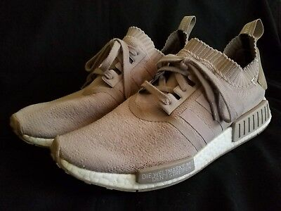 brand new 95556 134ed Adidas NMD R1 PK French Beige   Vapour Grey sz 12 Boost Japan Pack