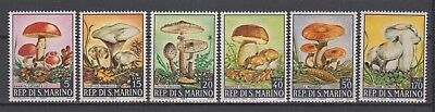 "San Marino - 1967 ""Various Mushrooms"" (MNH)"