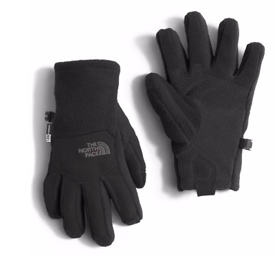 The North Face Youth Denali Etip Glove - TNF Black - Small - NF0A2T85 - NWT!