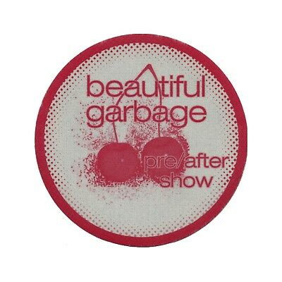 Garbage authentic Aftershow 2001 tour Backstage Pass
