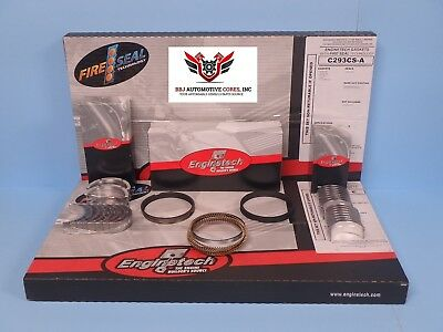Enginetech Chevy Bbc 396 Re Ring Rebuild Kit With Main Bearings 1965 - 1970