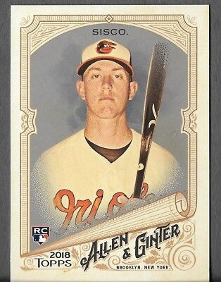 2018 Topps Allen and Ginter Silver Hot Box Glossy Pick Your Cards RC HOF 1-250